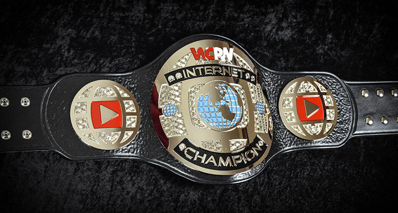 Wcpw Internet Championship Leather Rebels Custom